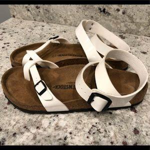 White Birkenstock Sandals *SIZE 42*